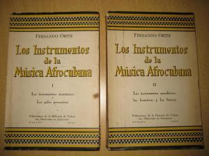 Los Instrumentos de la Musica Afrocubana